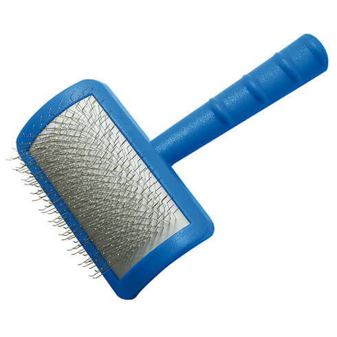 More informations about: Dog sliker brush Vivog - medium model - very long pimples