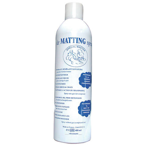 More informations about: DE MATTING spray