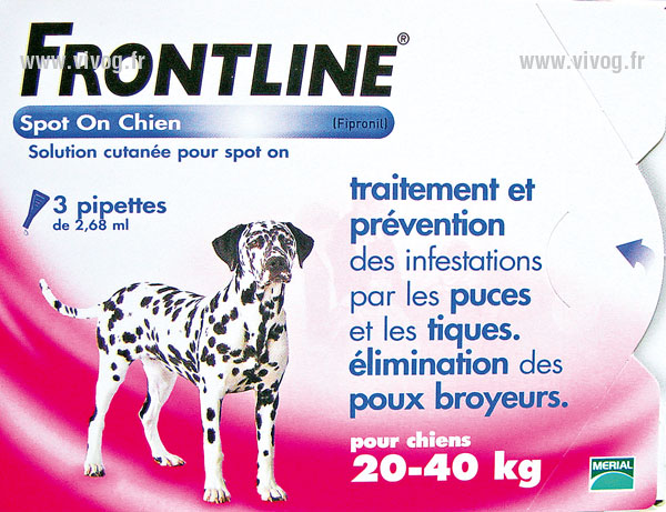 SPOTS ON - dog from 20 to 40kg