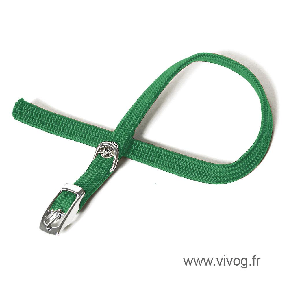 Straight Cat Collar - Green