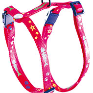 More informations about: Harness for cat - Fish & Star - red