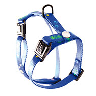 More informations about: Harness for cat - Fish & Star - blue