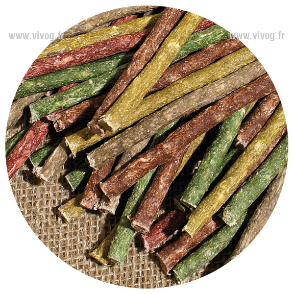 Wrapped treat sticks - assorted
