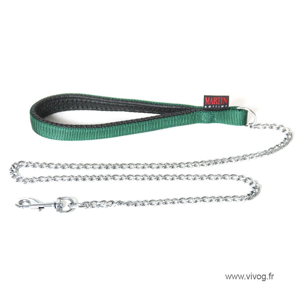 Dog Lead chain - green