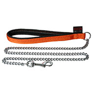 More informations about: Dog Lead chain - orange
