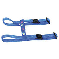 More informations about: Harness for cat - cat paws - blue