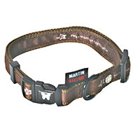 More informations about: Brown adjustable dog collar - Pets connection