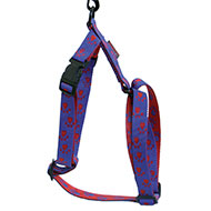 More informations about: Blue red dog harness - original paw