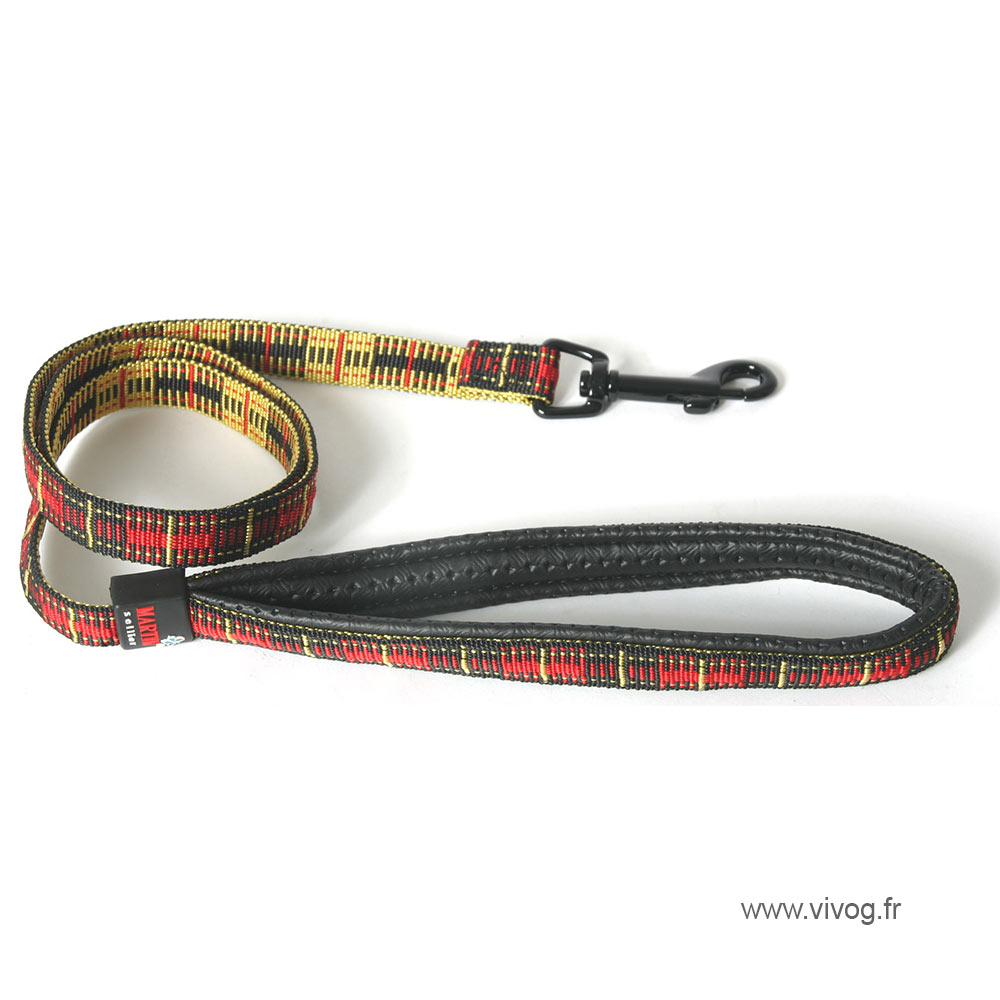 Laisse pour chien - Scotland rouge
