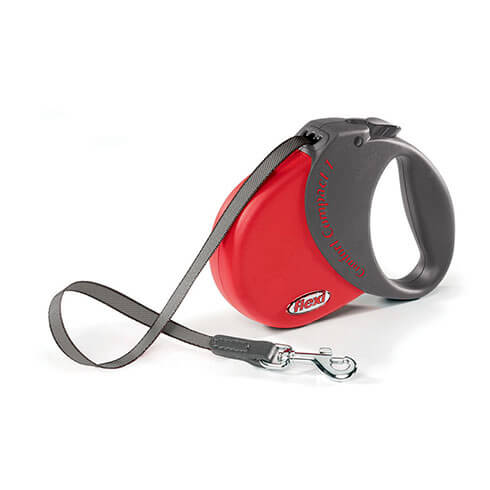 Lead FLEXI - red Comfort Compact - Comfort Compact 1 - 15kg