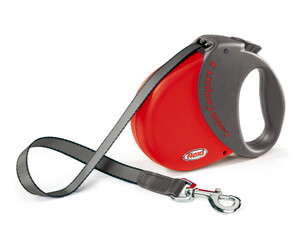 Lead FLEXI - red Comfort Compact - Comfort Compact 3 - 60kg