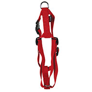 More informations about: Adjustable dog harness red nylon