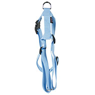 More informations about: Adjustable dog harness blue nylon