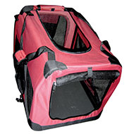 More informations about: Pet carrier - luxury folding - in canvas