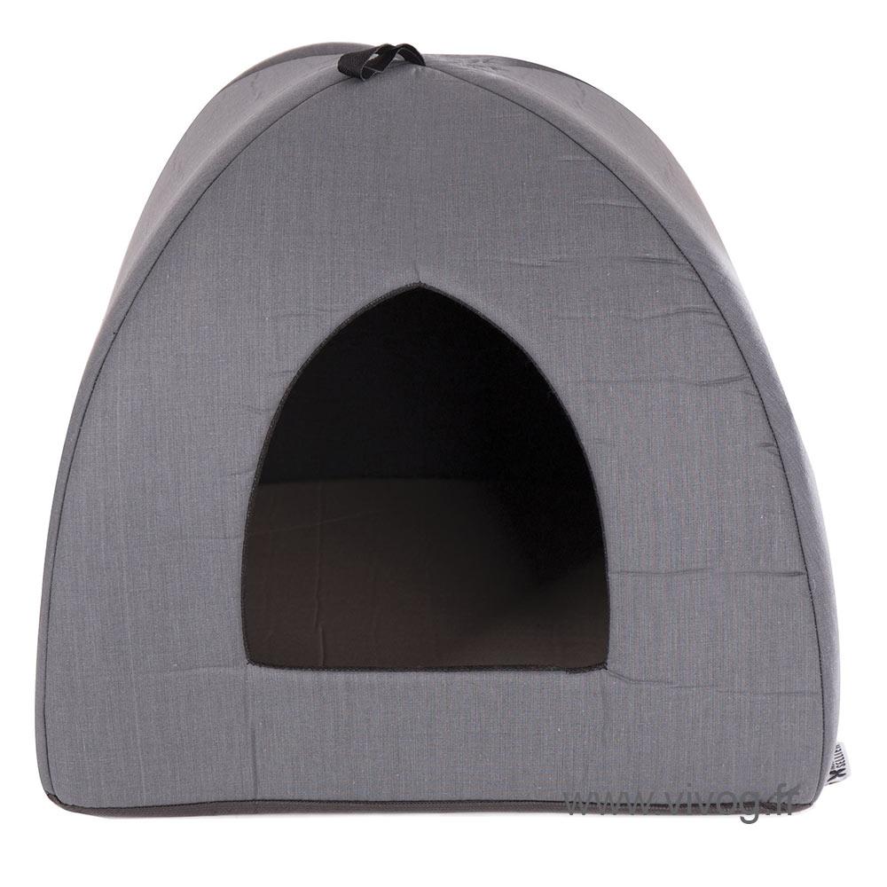 Tipi pour chien - Classic gris - 40cm