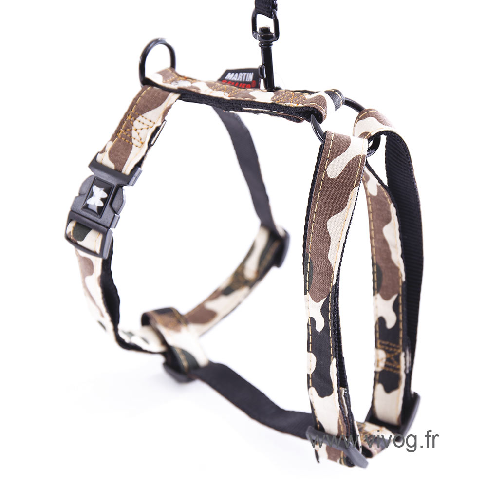 Dog harness - camouflage