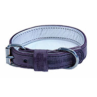 More informations about: Leather collar for dog Parma - Dakota