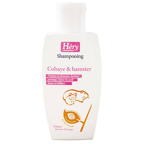 More informations about: Guinea pig and hamster shampoo - Hery