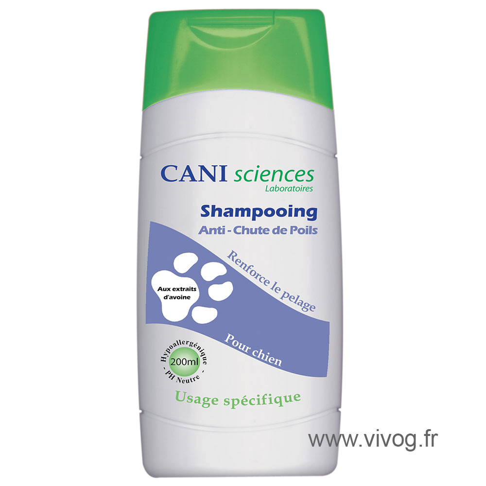 Dog shampoo - anti hair fall - Cani Sciences