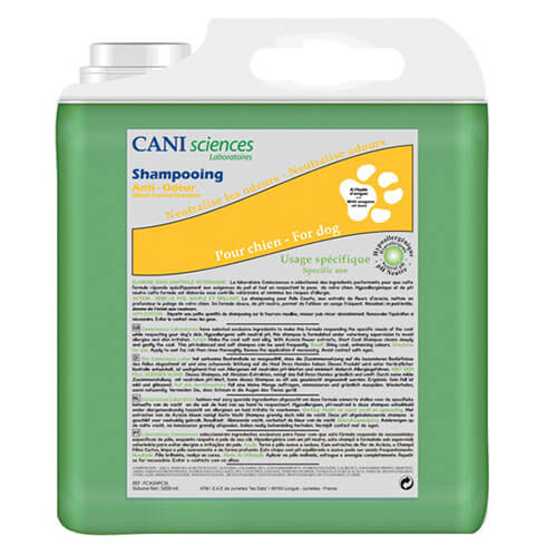 More informations about: Dog shampoo anti odor - conditioning Pro - Cani Sciences