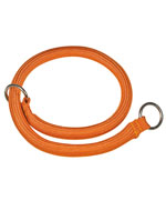 Collier étrangleur ALPINISTE - Orange -  diam. 8mmx35cm