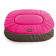 More informations about: Flat oval Dog Cushion - Classic Pink