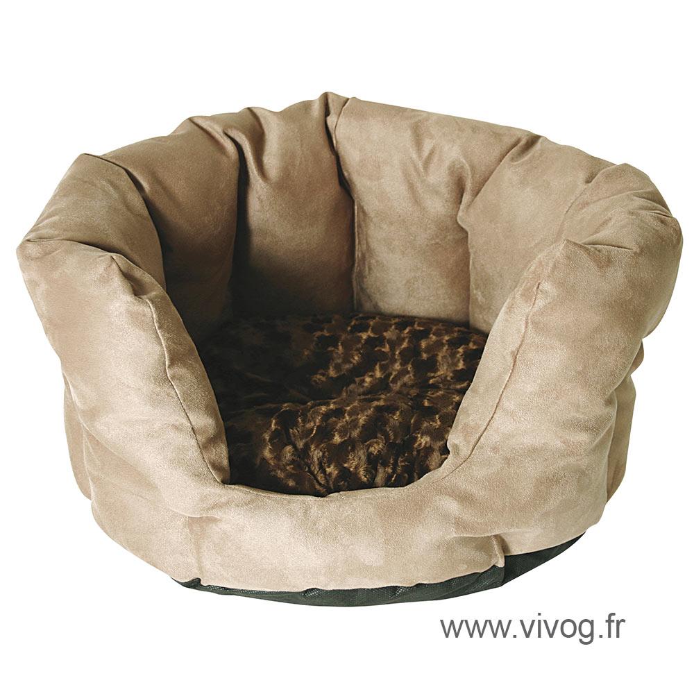 corbeille haute panier pour chien - Caramel choc' - 40cm