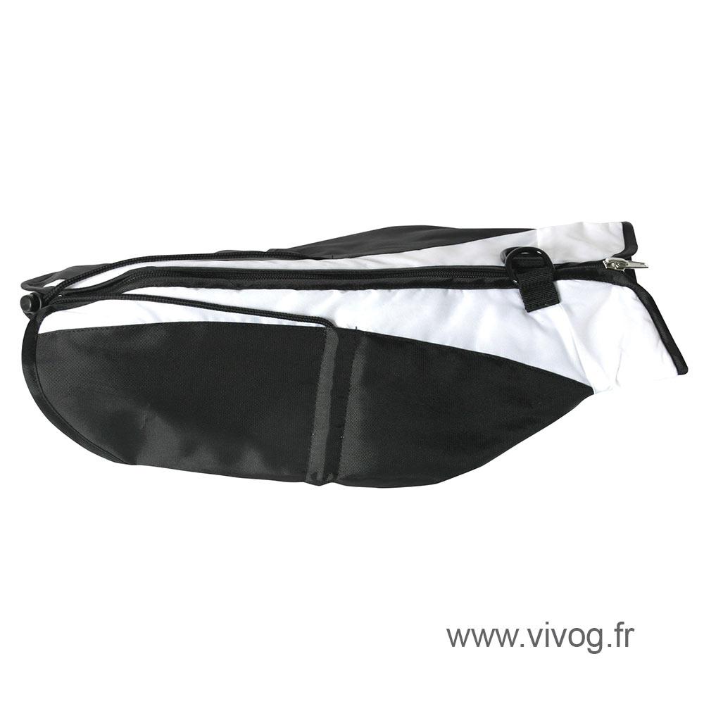 Manteau pour chien - Bicolore noir blanc