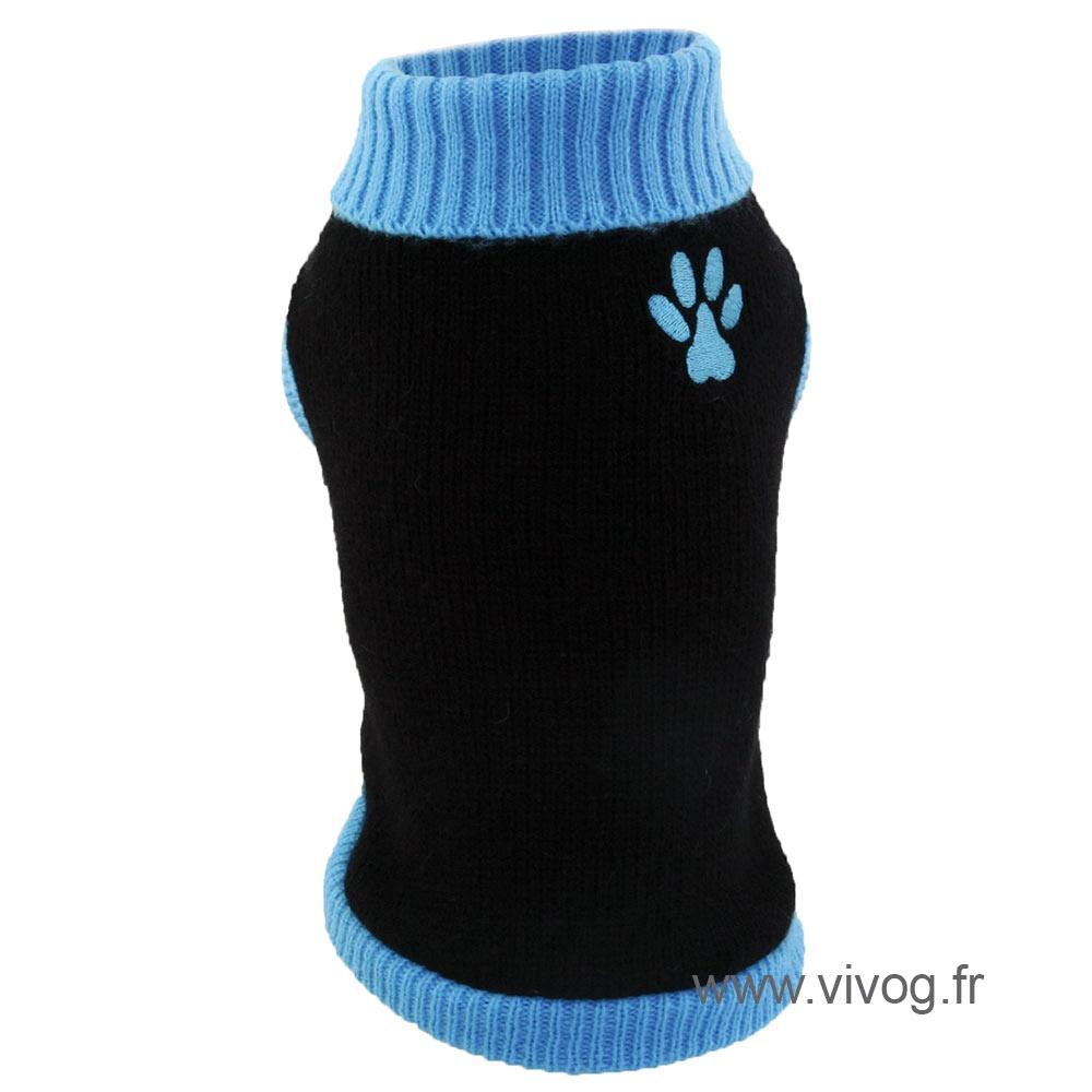 Pull pour chien - Paw bleu