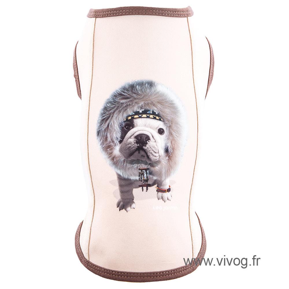 Tee shirt pour chien - Téo Jasmin Inuit