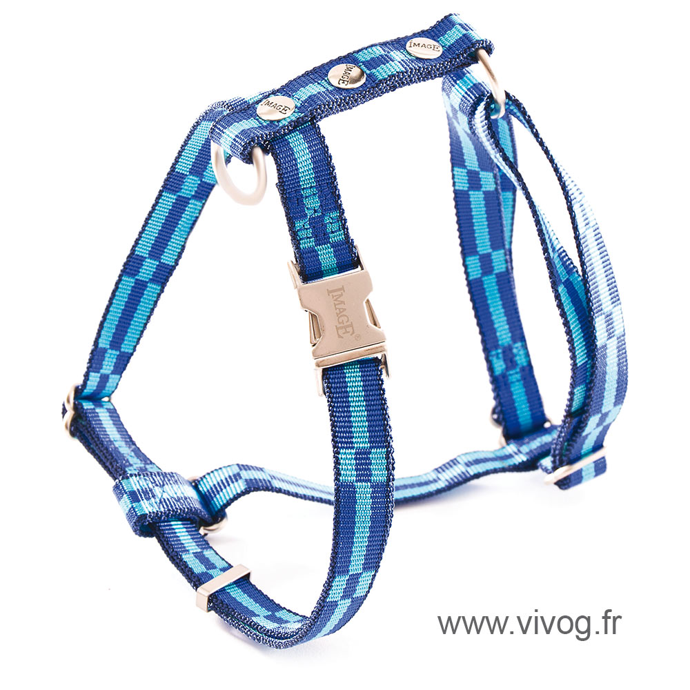 Dog harness - Dream blue