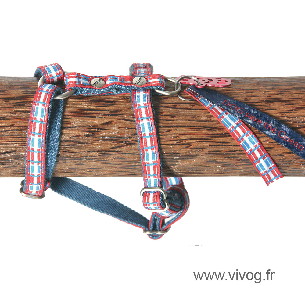 Dog harness - Dog Save The Queen