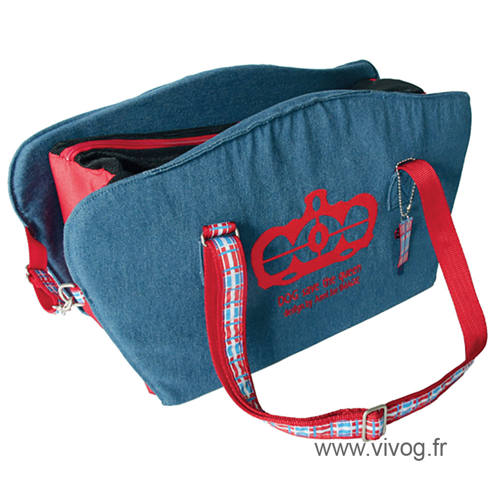 Carrying bag for dog and cat - Dog save the queen