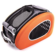 More informations about: Carrying bag for dogs and cats - foldable orange
