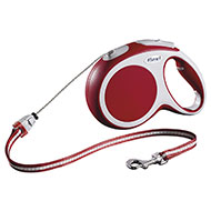 More informations about: Dog lead - Flexi vario red cord