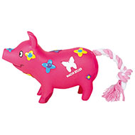 Dog Toy - Small pigs - Flower