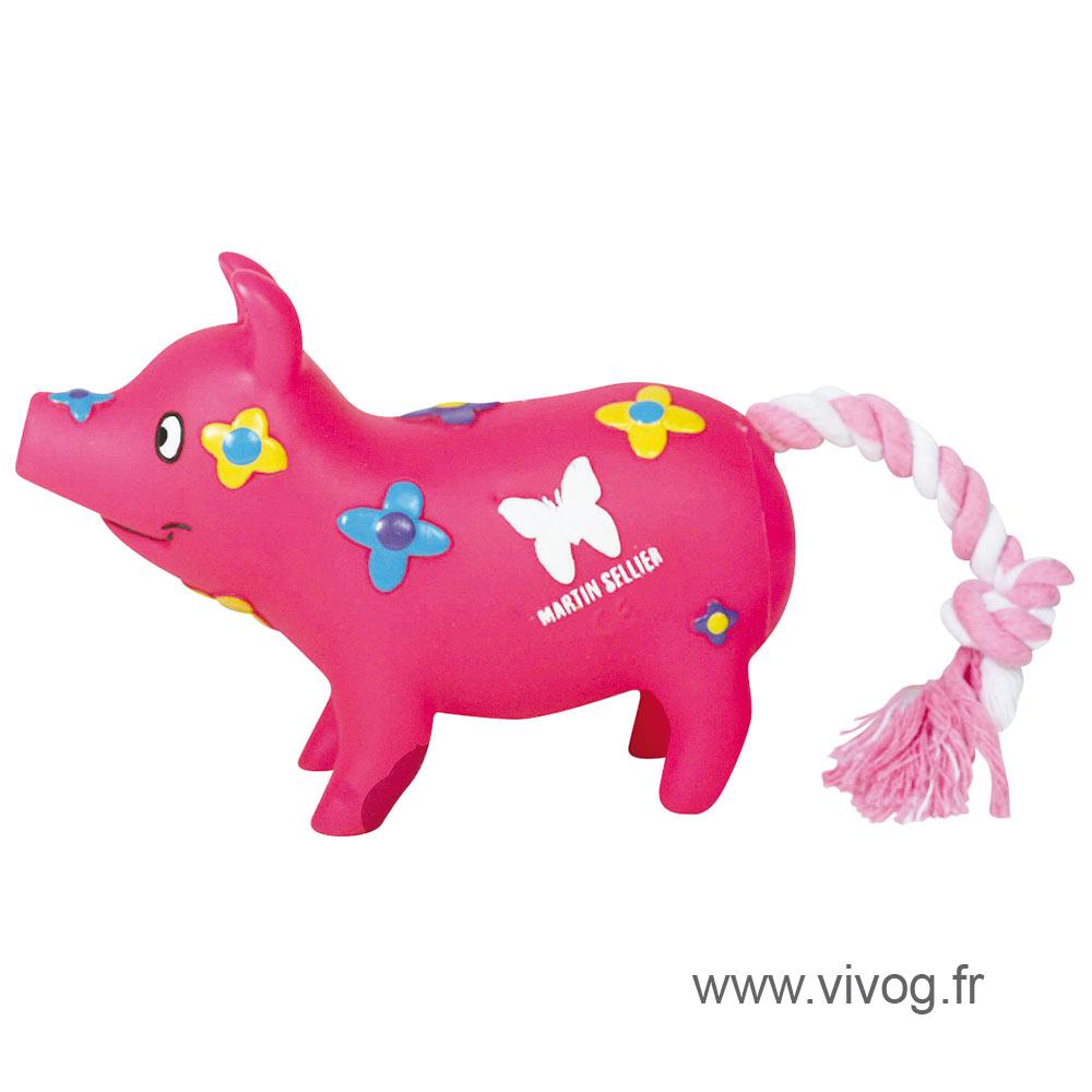 Jouet pour chien - Petits cochons - Fleur
