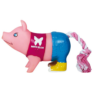 Dog Toy - Small pigs - Jeans