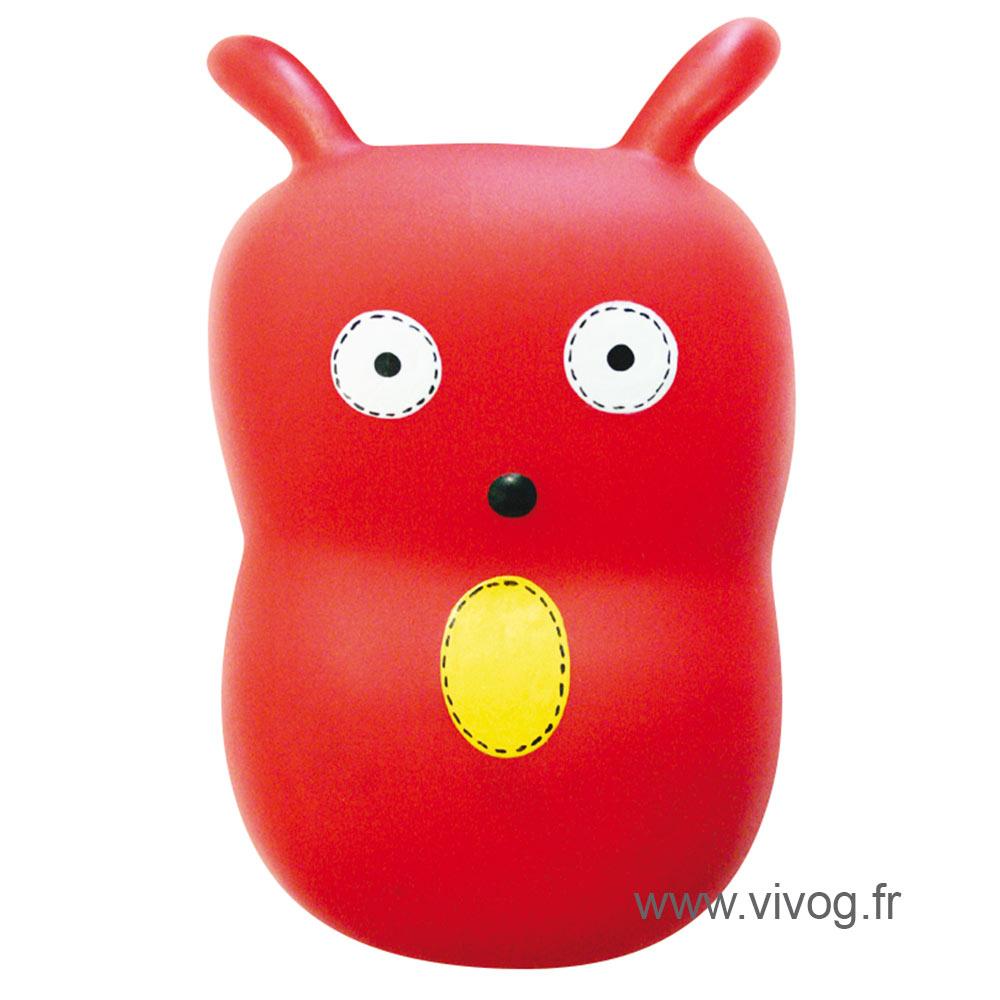 Jouet pour chien - Les Beurks - rouge