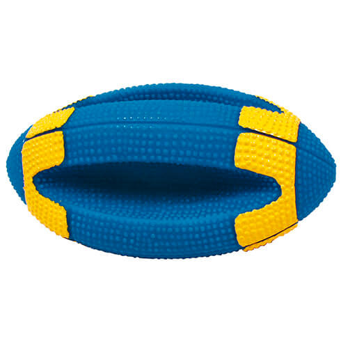 Dog Toy - Rugby Ball with handles