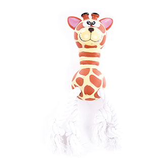 Dog Toy - Super giraffe