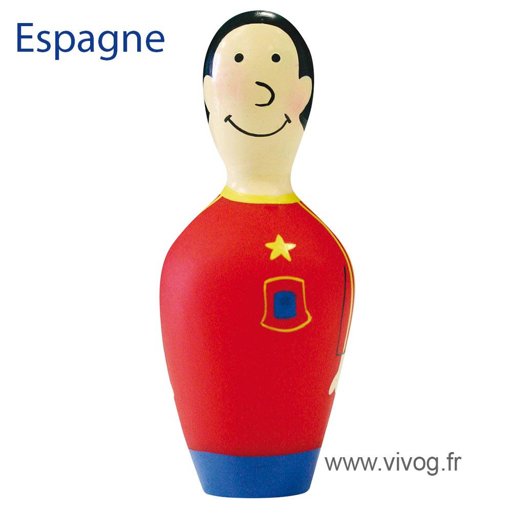 Jouet pour chien - Quilles équipe de foot - Espagne
