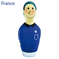 More informations about: Dog Toy - Bowling football team - France
