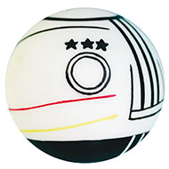 More informations about: Dog Toy - Ball football team - Deutchland