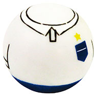 More informations about: Dog Toy - Ball football team - England