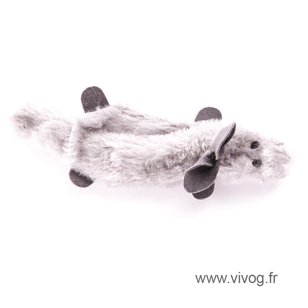 Jouet pour chien - Peluches écrasées - Lapin