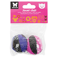 More informations about: Cat Toys - 2 phosphorescent balls paw