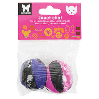 Cat Toys - 2 phosphorescent balls paw