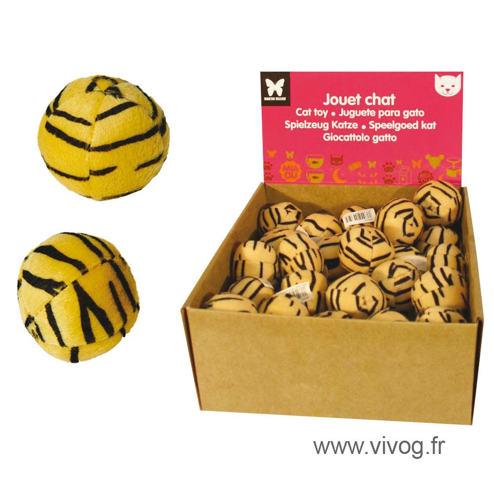 Set of cat toys - leopard balls