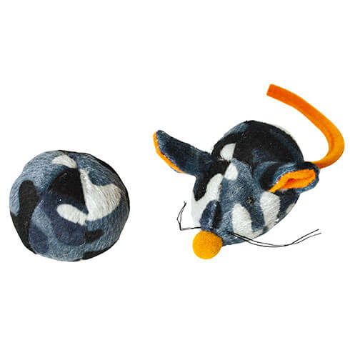 More informations about: Cat Toys - Duo ball mouse